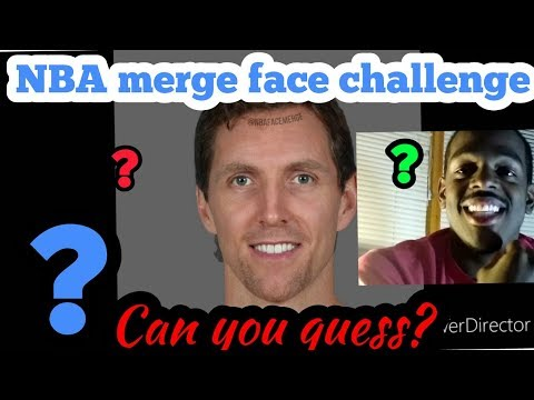 NBA merge face challenge