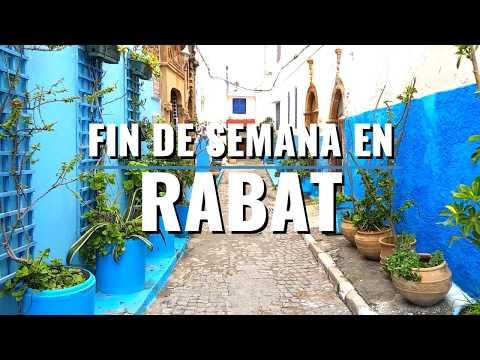 FIN DE SEMANA EN RABAT - MARRUECOS 🇲🇦| Comiviajeros.com🌍