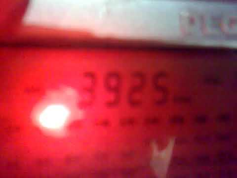 2701201826652 DX 3925 kHz - Radio Nikkei sign on bells