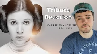 A Tribute To Carrie Fisher Reaction