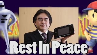 Satoru Iwata Nintendo CEO Died Age 55 - My Memorial To Him