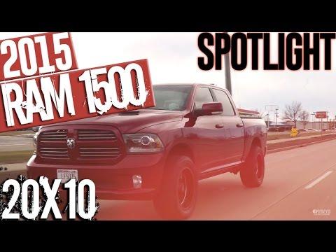 Vehicle Spotlight- Ram 1500, leveled, 20x10s and 33x12.5's