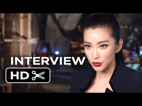 Transformers: Age of Extinction Interview - Li Bingbing (2014) - Michael Bay Action Movie HD
