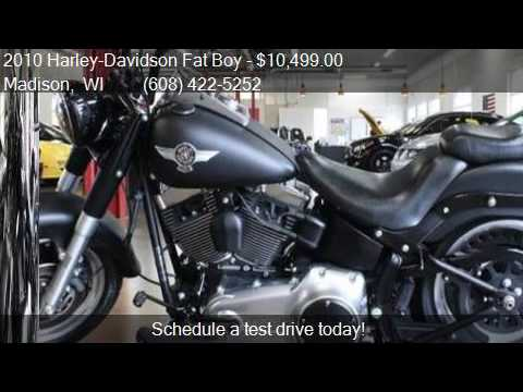 2010 Harley-Davidson Fat Boy LO For Sale In Madison, WI 5370