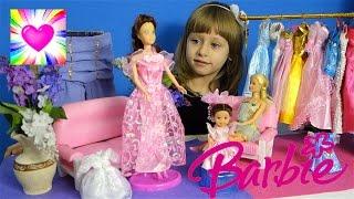 Барби Салон #3 Играем в Куклы Барби Мода Видео для Девочек для Детей  Обнимашки с Машей