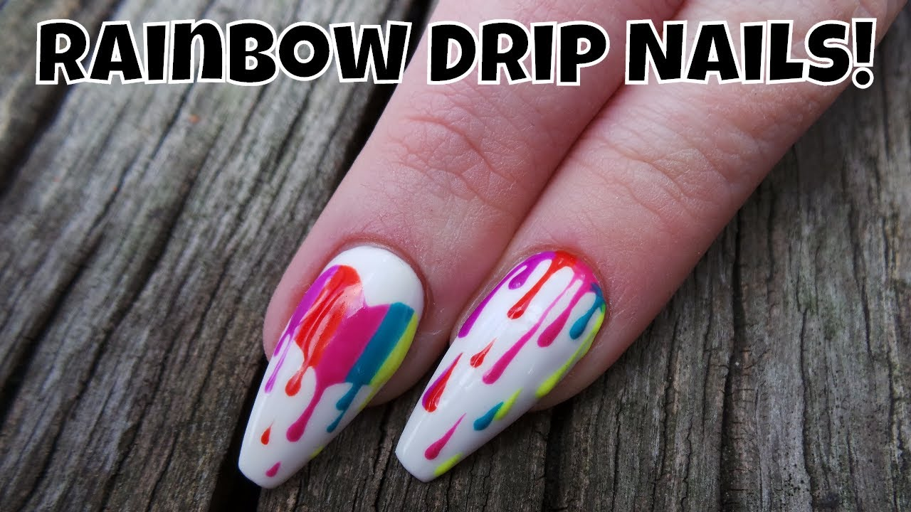 Rainbow Bleeding Heart And Drip Design Youtube