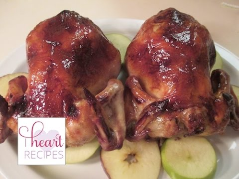 Glazed Cornish  Hens - How To Cook