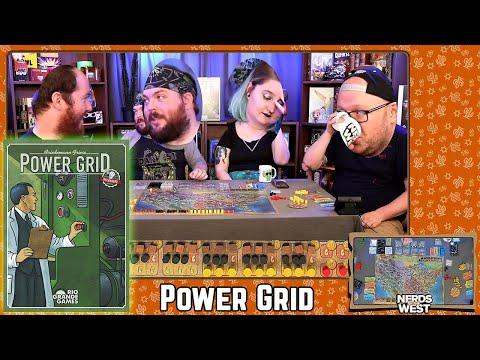 Power Grid   Board Game Live Stream