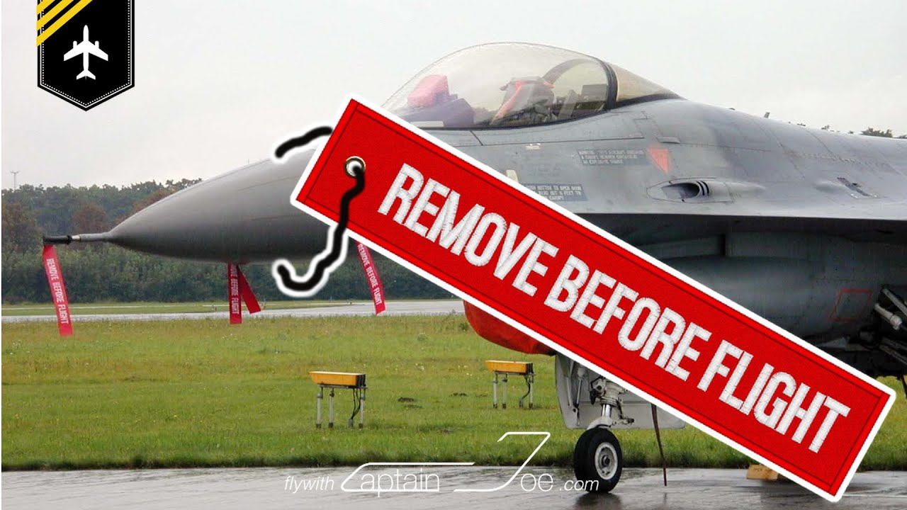 What are those REMOVE BEFORE FLIGHT tags?