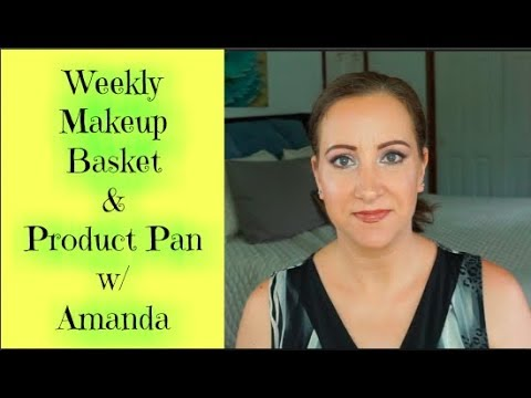 Weekly Makeup Basket & Product Pan w Amanda Update 5  Jessica Lee