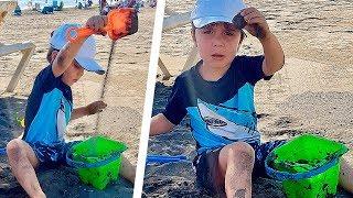 BEACH FUN WITH KIDS!! Brancoala Family Trip