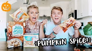 First Time Trying Pumpkin Spice Foods & Target Shopping!