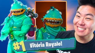 I BOUGHT THE NEW SKIN OF THE CLOUDY TRITÃO AND I KILLED GENERAL! -Fortnite Battle Royale