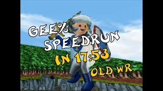 Hype: the Time Quest - Gee% Speedrun in 17:53 (old WR)
