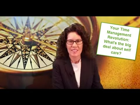 Productivity Tip - Practice self-care for your time management revolution (4) Mp3
