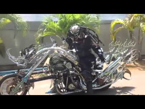 Predator Chopper Motorcycle Mod Youtube