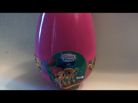 Apriamo l'uovo di Shimmer and Shine... Edicola..