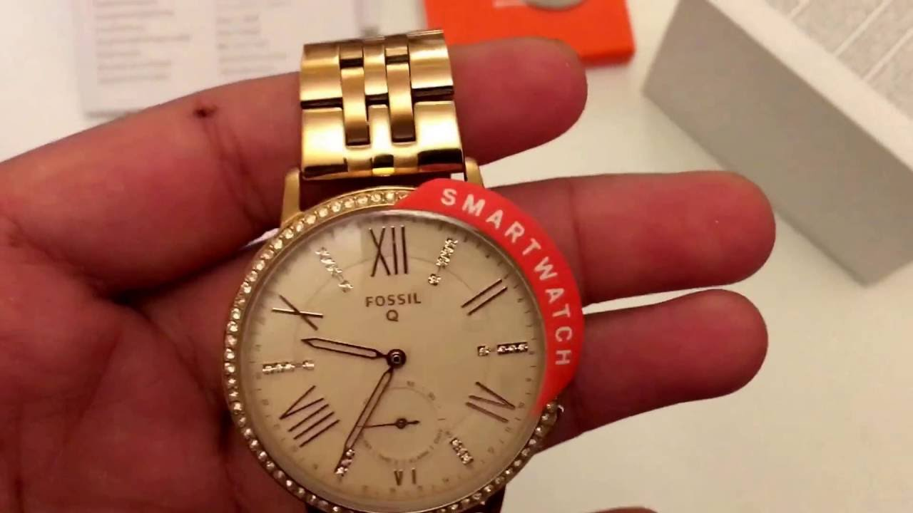 6fb8dc44158b Fossil Q Gazer hybrid smartwatch review - YouTube