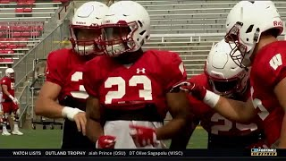 BTN Bus Tour: RB Jonathan Taylor | Wisconsin | Big Ten Football thumbnail