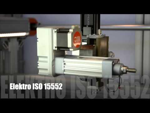 METAL WORK  - CILINDROS ELETRICOS ISO 15552