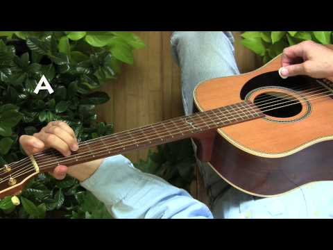 """Lesson 5 from """"A Beautiful Way to Start Playing Guitar: DADGAD for Complete Beginners"""""""