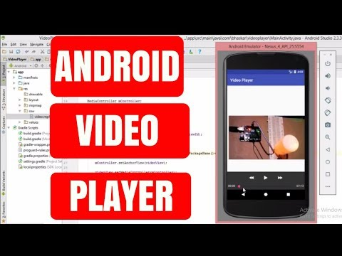 How To Make Video Player In Android Studio