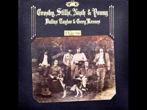 Crosby, Stills, Nash & Young - Déjà Vu, 1970 Atlantic LP record.