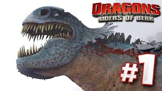 Taming Dragons! | DRAGONS : Rise Of Berk - Ep1 HD