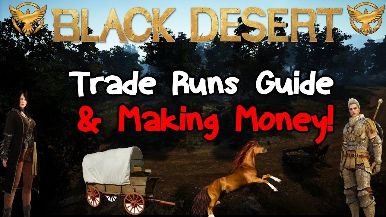 Black Desert Online: Trade Run guide (The Basics)