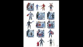 The avengers endgame 6 inch action figures series 2