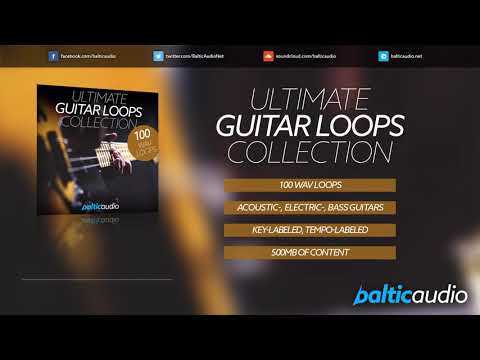 Ultimate Guitar Loops Collection (100 Guitar Loops in WAV Format)