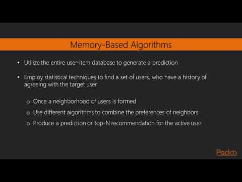 Advanced Data Mining projects with R : What Is Recommendation?   packtpub.com