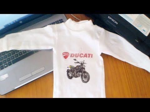 How to Print T-shirt without transfer paper on inkjet printer