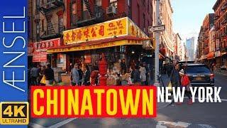 Walking NYC : Manhattan's Chinatown ⁴ᴷ⁶⁰