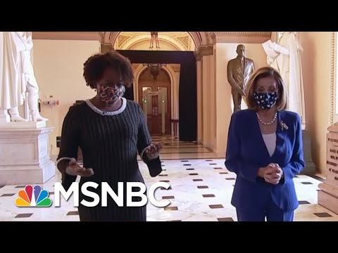 Pelosi: 'The Custodial Staff Rose To The Occasion' After The Capitol Hill Insurrection | The ReidOut