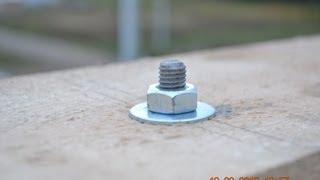 крепление мауэрлата на армопояс(Крепление мауэрлата (стропилины) на армопояс Да, это стропилина, она лежит на боку. Мне не нужен тут брус..., 2013-09-19T16:37:46.000Z)