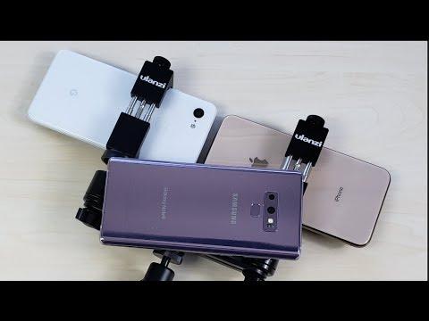 La comparativa mas esperada, Google Pixel 3XL, iPhone XS Max & Galaxy Note 9