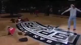 WWE Shawn Michaels Sweet Chin Music to NBA Mascot
