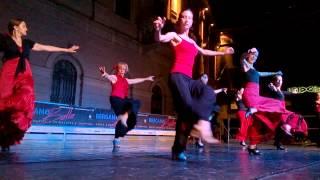 FLAMENCO SPAGNOLO ( Baile flamenco notte bianca bergamo 2015)