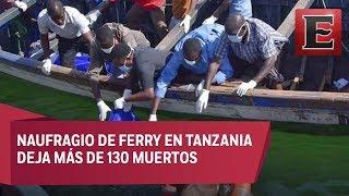 Más de 130 muertos en el naufragio de un ferry en Tanzania