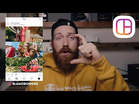 Build An Amazing Instagram Layout!