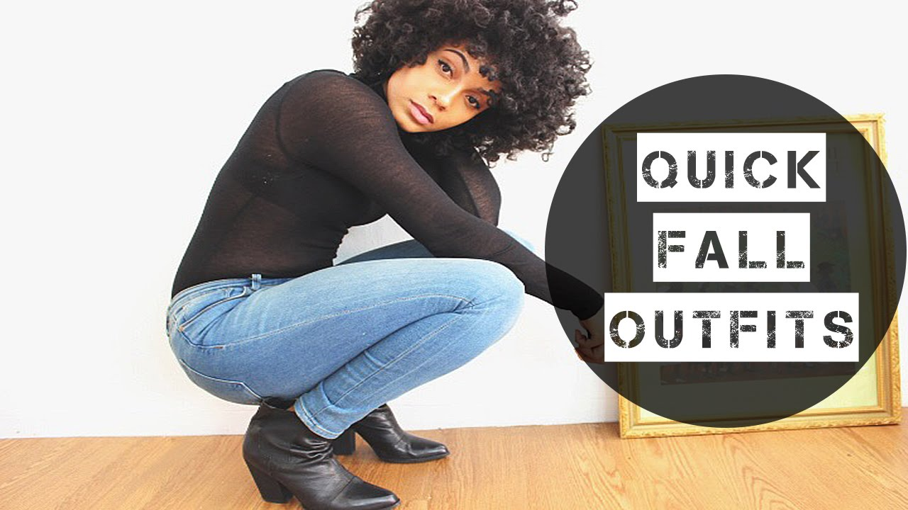 Quick Fall Outfits || TheNotoriousKIA