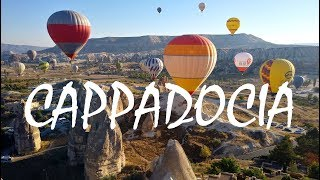 EXPLORING CAPPADOCIA, TURKEY (I'm Living In A Cave)