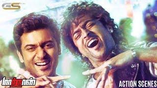 Maattrraan - Action Scenes | Suriya | Kajal Aggarwal | K. V. Anand