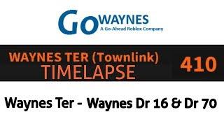 [ROBLOX] GoWaynes Townlink Service 410 Zeitraffer