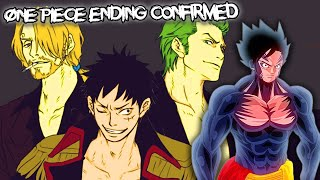 Gambar cover One Piece ENDING CONFIRMED by Eiichiro Oda