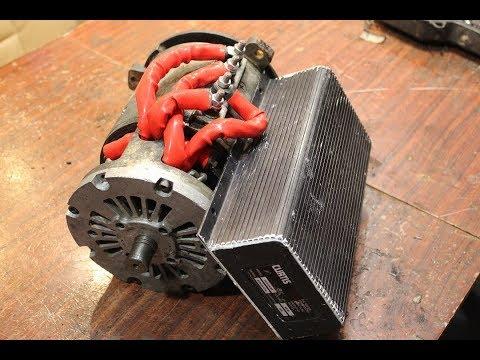 Контроллер электропогрузчика на картинге бюджетно и качественно curtis 1221  52250watt