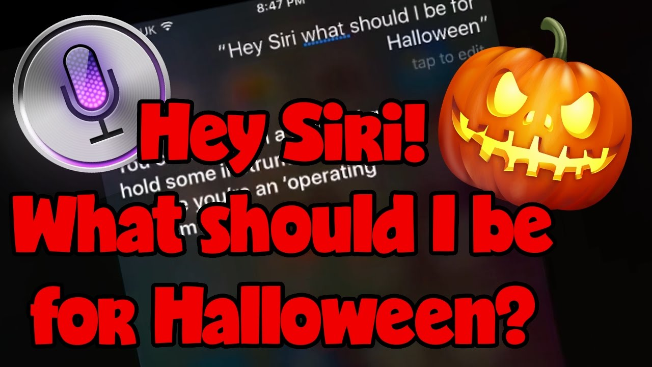 hey siri, what should i be for halloween? funny ios 10 halloween