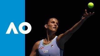 Kristina Mladenovic vs. Karolina Pliskova - Match Highlights (1R) | Australian Open 2020