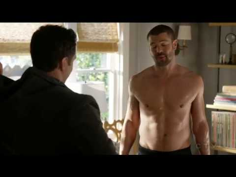 Charlie Weber shirtless  workout  How to Get Away With Murder 35